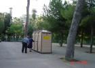 Volontariato in Piazza Giardino Inglese – Palermo – Anno 2005